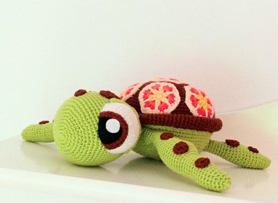 Amigurumi Turtle : Squirt amigurumi crochet turtle sea turtle crochet sea