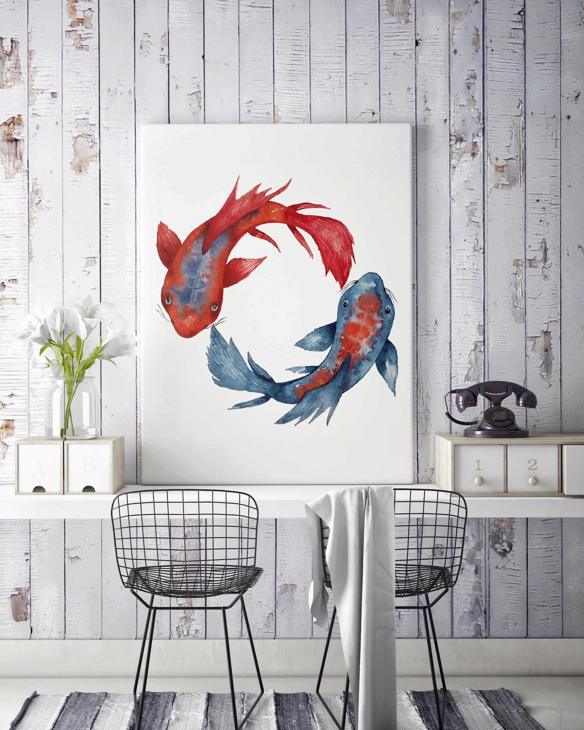 ideas fish sculpture unique metal wall motif winsome painting art decor image modern hanging love l