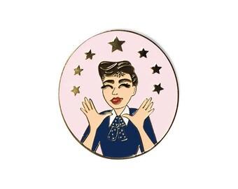 Judy Garland Enamel Pin
