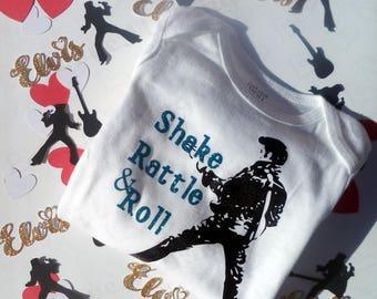 Shake, Rattle & Roll - Elvis Presley Baby Onesie