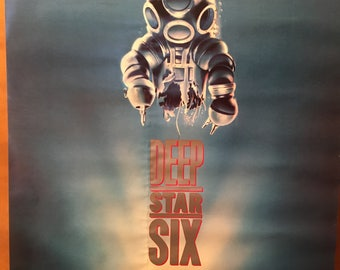 Movie poster, Deep Star Six