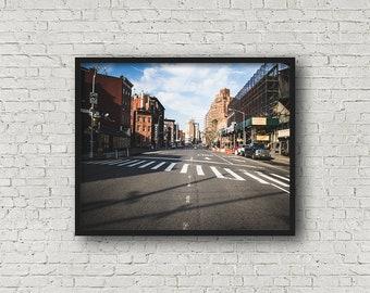 Greenwich Village Street Fotografie / Digital Download / Fine-Art Print / Kunst / Home Decor / Farbe Fotografie / Reisefotografie