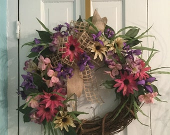 BURST OF SPRING wreath