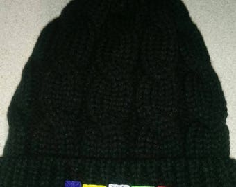 OES fur lined knit cap