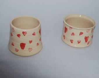 Valentine Gift, Heart plant pot, Valentine pot