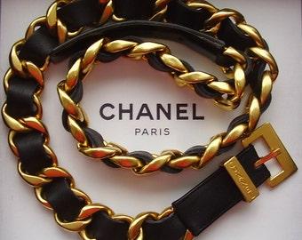AUTHENTIC CHANEL CHAIN Belt