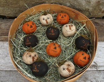 My Primitive Lil' Jacks Halloween Instant Download Pattern