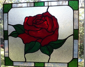 Tiffany method Rose window hanger