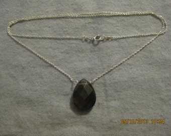 Drop of Silver Necklace