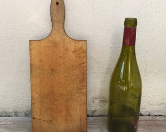 ANTIQUE VINTAGE FRENCH bread or chopping cutting board wood 2501189