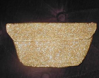 Vintage GOLD Evening Bag ClutchPurse