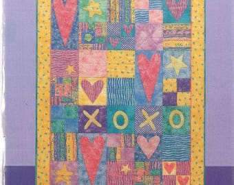 Hugs and Kisses Quilt Pattern by Patrick Lose