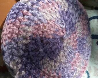 Lavender yarmulke
