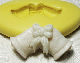 BELLS Mold Silicone Rubber Push Mold Mould for Resin Wax Fondant Polymer Clay Fimo Ice 3107