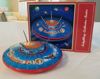 LIMITED EDITION Flying Saucer Z-1 Tin Toy by Schylling
