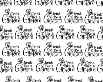 Drink Like A Gilmore- Digital Download Paper Planner