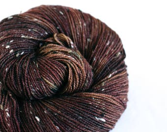 Al Swearengen - House Wren - 85/15 superwash merino/ nylon tweed sock yarn