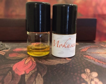 Mokusei perfume sample