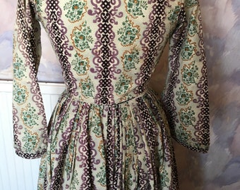 Beautiful 19th century/antique bodice and skirt