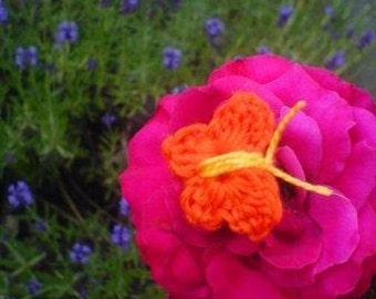 Crochet Pattern Butterfly, pdf, instant download