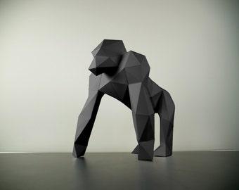 Papercraft Gorilla