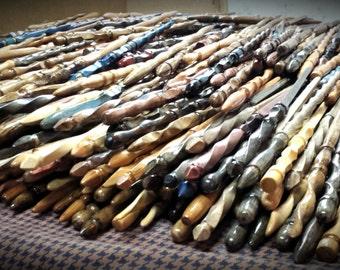 Lot of One Hundred (100) Harry Potter Inspired Random Hand Carved Wedding Favor Magic Wands