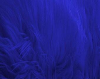 Shaggy Faux Fur / Royal Fabric by the yard