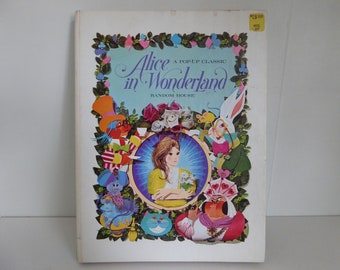 vintage Alice in Wonderland A pop-up classic