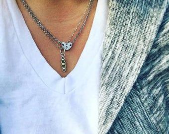 Semi Colon Necklace - Project Semi Colon