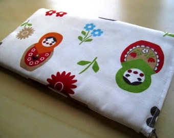 Matryoshka  - Apple Magic Keyboard Sleeve, Apple Keyboard Case, Samsung Wireless Keyboard Sleeve - Padded and Zipper Closure