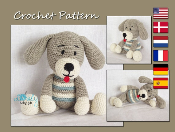 Amigurumi Lion Perritos : Crochet pattern amigurumi pattern amigurumi toy dog