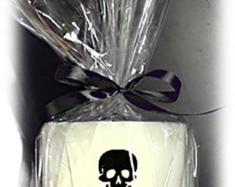 Skull And Crossbones Embroidered Toilet Roll Present