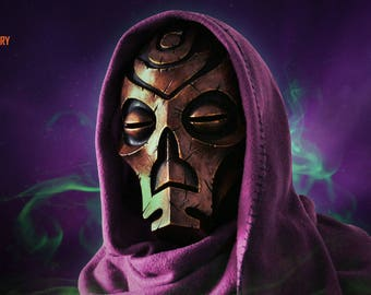 Dragon Priest Mask - Bronze