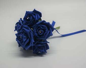 Wedding Posy - Perfect for Bridesmaids ( Royal Blue )