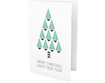 Christmas card 5* {+envelope}
