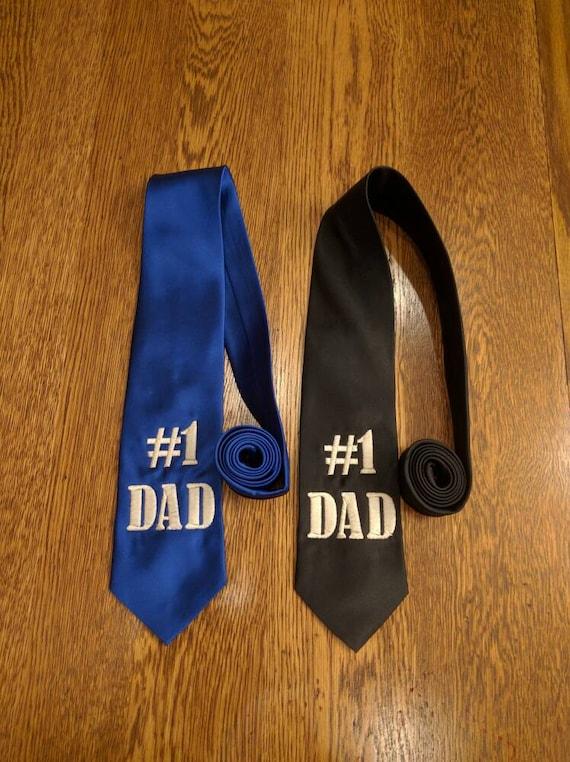 Number 1 DAD Tie