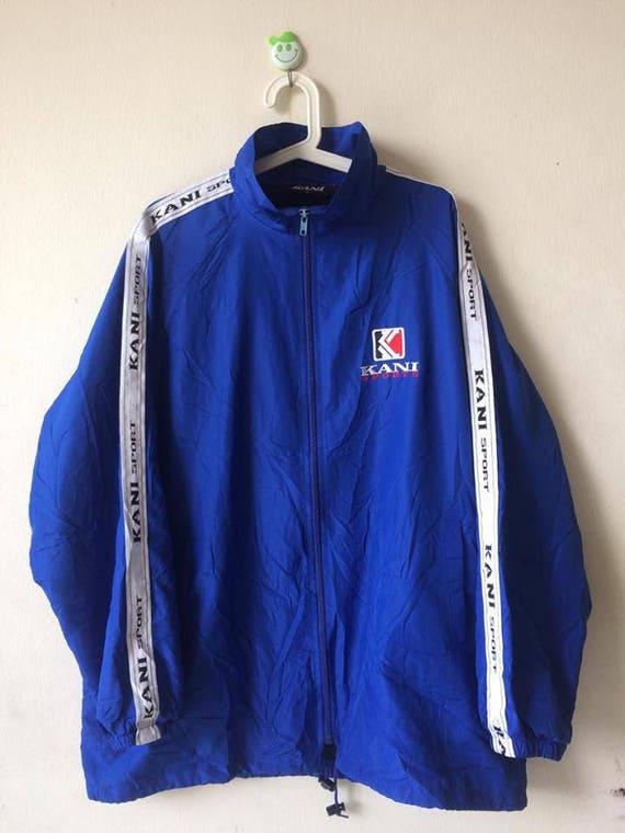 Vintage Kani Endurance Big Logo Spell out Embroidery Sportswear Jacket koktBj3