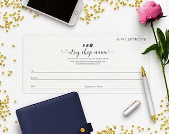 Gift Certificate Printable - Gift Certificate Download - Printable Gift Certificate   Gift Certificate Design - Bird 7-16