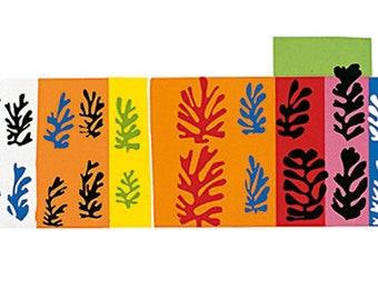 Henri Matisse The Velvets (Silkscreen print)