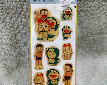 The Cat Type Robot Puffy Sticker Sealed Pack