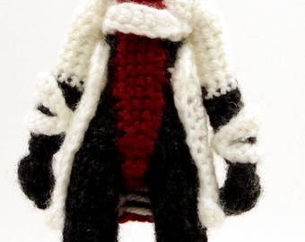 Mordin Solus (Mass Effect) - Handmade crochet original design doll