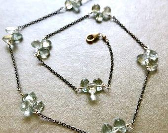 Aquamarine Necklace--Aquamarine Jewelry