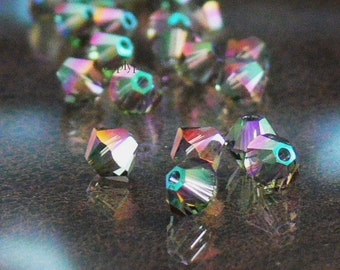 Paradise Shine Swarovski Crystal Beads 4mm Bicone 20
