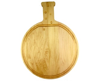 5000ml Roundbottom Boiling Flask Cutting Board - Maple - Science and Chemistry Gift