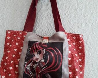 Girl draculaura Burgundy bag