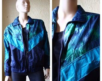 1990s windbreaker // vintage 90s coat