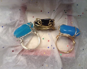 Statement Rings size 7