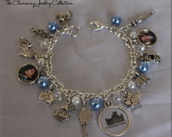 Downton Abbey inspired Jewelry, Bracelet, TV Series, Gift