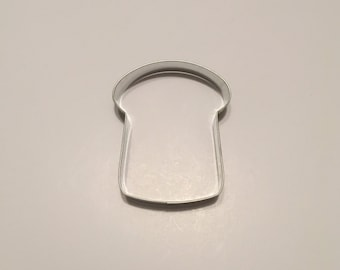 "4"" Slice of Bread Cookie Cutter"
