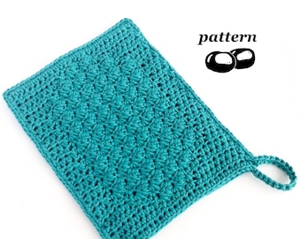 Crochet Wash Mitt Pattern / Crochet Bath Mitt Pattern / Wash Glove / Shower Mitt / Crochet Spa Mitt / Crochet Pattern